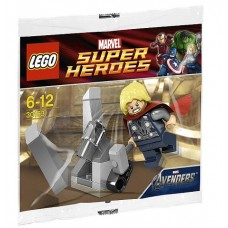 30163 SUPER HEROES Thor and the Cosmic Cube polybag