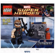 30165 SUPER HEROES Hawkeye with Equipment polybag