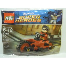 30166 SUPER HEROES Robin and Redbird Cycle polybag