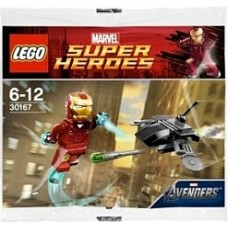 30167 SUPER HEROES Iron Man vs. Fighting Drone polybag