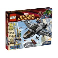 6869 SUPER HEROES Quinjet Aerial Battle