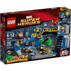 76018 SUPER HEROES Hulk Lab Smash