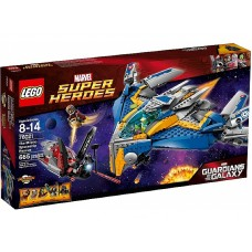 76021 SUPER HEROES The Milano Spaceship Rescue