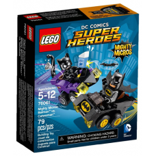76061 SUPER HEROES Mighty Micros - Batman vs. Catwoman