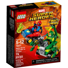 76071 SUPER HEROES Mighty Micros - Spider-Man vs. Scorpion