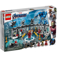 76125 SUPER HEROES Iron Man Hall of Armor