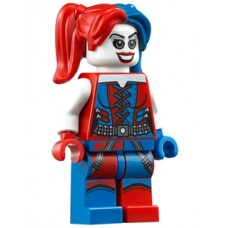 sh260 Harley Quinn - Blue and Red Hands and Pigtails (76053)