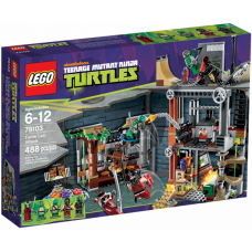 79103 TMNT Turtle Lair Attack