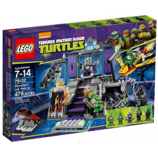 79122 TMNT Shredder's Lair Rescue
