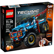 42070 TECHNIC 6x6 All Terrain Tow Truck