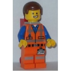 tlm026 Emmet - Wide Smile, with Piece of Resistance and Plate on Leg