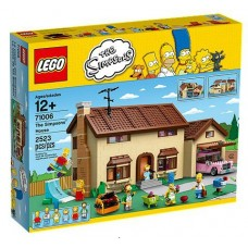 71006 THE SIMPSONS The Simpsons House